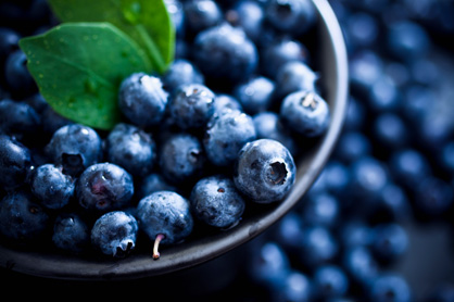 Blueberries and other berries are an full of powerful antioxidants